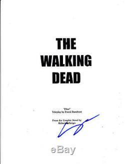 Steven Yeun Glen Signed Walking Dead Pilot Episode Full 61 Page Script Autograph