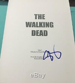 Steven Yeun Signed Autograph The Walking Dead Pilot Episode Show Script Coa