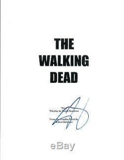 Steven Yeun Signed Autographed THE WALKING DEAD Pilot Episode Script COA
