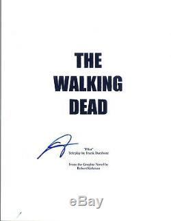 Steven Yeun Signed Autographed THE WALKING DEAD Pilot Episode Script COA VD