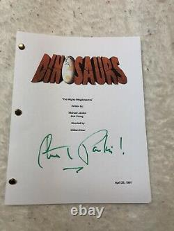 Stuart Pankin Dinosaurs Earl Signed Autographed Pilot Full Episode Script