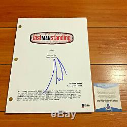 TIM ALLEN LAST MAN STANDING SIGNED FULL 58 PAGE PILOT SCRIPT with BECKETT BAS COA