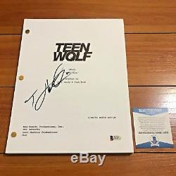 TYLER HOECHLIN SIGNED TEEN WOLF FULL 38 PAGE PILOT SCRIPT with BECKETT BAS COA