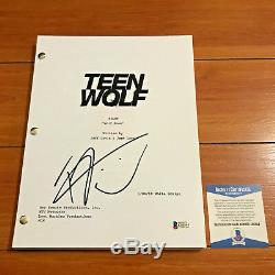 TYLER POSEY SIGNED TEEN WOLF FULL 38 PAGE PILOT SCRIPT with BECKETT BAS COA