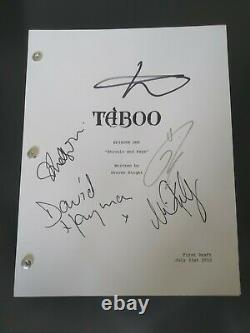 Taboo signed full pilot script by 5 cast- Tom Hardy, Oona Chaplin and others