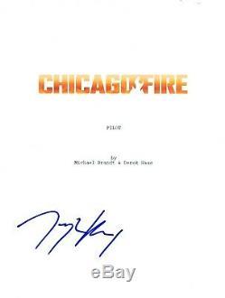 Taylor Kinney Signed Autographed CHICAGO FIRE Pilot Episode Script COA