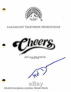 Ted Danson Signed Autograph Cheers Pilot Script Woody Harrleson, Kirstie Alley