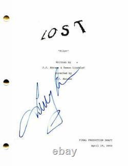 Terry O'quinn Signed Autograph Lost Full Pilot Script Jj Abrams Maggie Grace