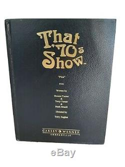 That 70s Show Signed Script Book Pilot Episode 01