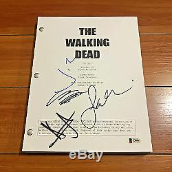 The Walking Dead Signed Pilot Script By 4 Cast Andrew Lincoln Beckett Bas Coa