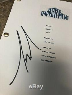 Tim Allen Home Improvement Signed Autographed Pilot Full Episode Script