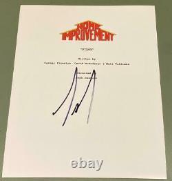 Tim Allen Signed Autograph Home Improvement Full Rare Show Pilot Script Coa