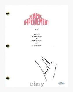 Tim Allen Signed Autographed Home Improvement Pilot Script Screenplay ACOA COA