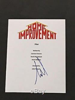 Tim Allen Signed Home Improvement Pilot Episode Full Script Proof Jsa Coa