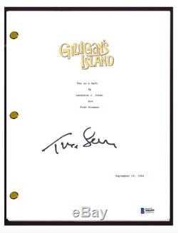 Tina Louise Signed Autograph GILLIGAN'S ISLAND Pilot Episode Script Beckett COA