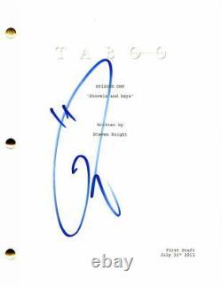 Tom Hardy Signed Autograph Taboo Full Pilot Script Steven Knight, Ed Hogg