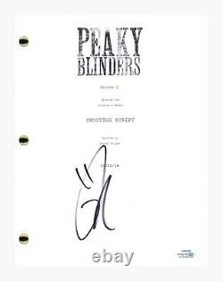 Tom Hardy Signed Autographed Peaky Blinders Series 2 Pilot Script ACOA COA