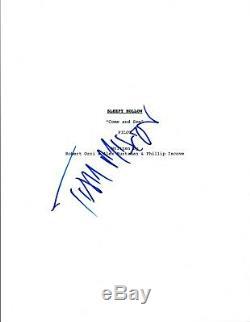 Tom Mison Signed Autographed SLEEPY HOLLOW Pilot Episode Script COA VD