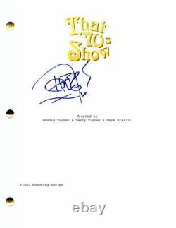 Tommy Chong Signed Autograph That 70's Show Full Pilot Script Leo Chingkwake