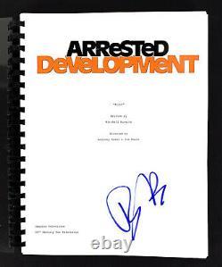 Tony Hale Authentic Signed Arrested Development TV Pilot Script BAS #H13916