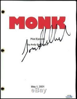 Tony Shalhoub Monk AUTOGRAPH Signed Full Complete Pilot Episode Script ACOA