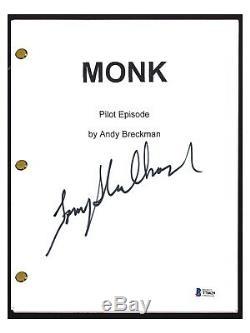Tony Shalhoub Signed Autographed MONK Pilot Episode Script Beckett BAS COA
