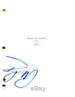 Tracy Morgan Signed Autograph 30 Rock Pilot Script Tina Fey, Donald Glover