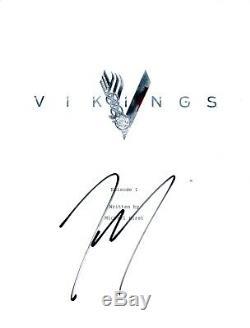 Travis Fimmel Signed Autographed VIKINGS Pilot Episode Script COA