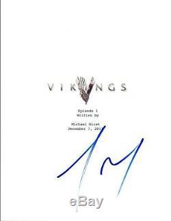 Travis Fimmel Signed Autographed VIKINGS Pilot Episode Script COA VD