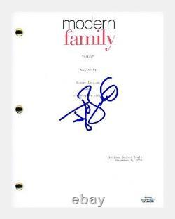 Ty Burrell Signed Autographed Modern Family Pilot Episode Script Phil ACOA COA