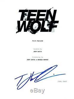 Tyler Hoechlin Signed Autographed TEEN WOLF Pilot Episode Script COA