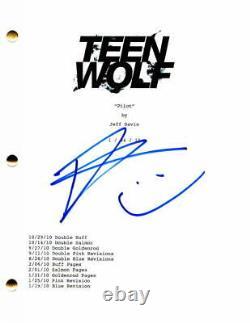 Tyler Posey Signed Autograph Teen Wolf Full Pilot Script Scott Mccall, Rare