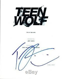 Tyler Posey Signed Autographed TEEN WOLF Pilot Episode Script COA