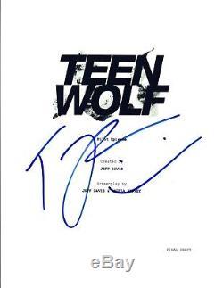 Tyler Posey Signed Autographed TEEN WOLF Pilot Episode Script COA VD