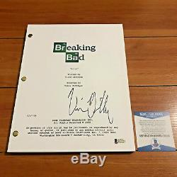 VINCE GILLIGAN SIGNED FULL 58 PAGE BREAKING BAD PILOT SCRIPT with BECKETT BAS COA
