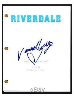 Vanessa Morgan Signed Autographed RIVERDALE Pilot Episode Script Toni Topaz COA