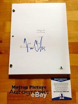 Vince Gilligan Signed Full Breaking Bad Pilot Script 58 Pages Beckett Bas Coa