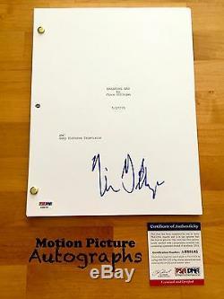 Vince Gilligan Signed Full Breaking Bad Pilot Script 58 Pages Psa Dna Coa