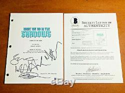 WHAT WE DO IN THE SHADOWS SIGNED PILOT SCRIPT BY 5 CAST MEMBERS with BECKETT COA