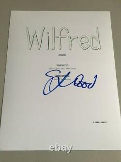 WILFRED Elijah Wood Signed TV Script Cover Pilot 8.5x11 AUTOGRAPH
