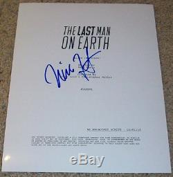 WILL FORTE SIGNED AUTOGRAPH THE LAST MAN ON EARTH 22 PAGE PILOT SCRIPT withPROOF