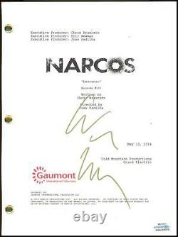 Wagner Moura Narcos AUTOGRAPH Signed Full Pilot Screenplay Script ACOA