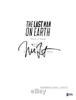 Will Forte Signed Last Man On Earth Pilot Script Beckett Bas Autograph Auto