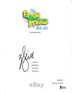 Will Smith Signed Fresh Prince Of Bel-air Pilot Script Autograph Beckett Coa