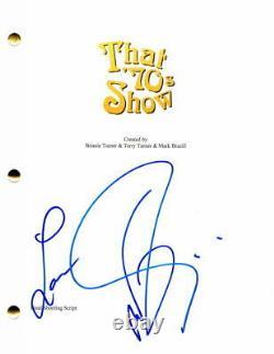 Wilmer Valderrama Signed Autograph That'70s Show Pilot Script Mila Kunis