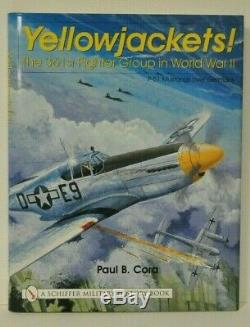 YELLOWJACKETS! The 361st FG in WWII SIGNED BY 3 361st pilots 2 are ACES